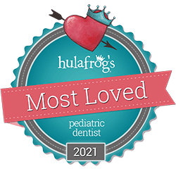 Hulafrog's Most Loved badge